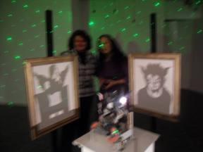 """Exhibition """"Contrasts"""", Larisa"""
